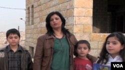 Shahinda El Kilani sa djecom