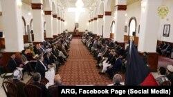 افغان حکومت دغه مذاکراتي ټېم د بین الافغاني مذاکراتو لپاره چمتو کړی و