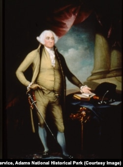 John Adams, 1797-1800 by William Winstanley.