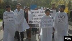 Endamên BDP'ê piştgirî didin greva birçîbûnê