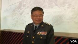 台灣國防部副部長張冠群(資料照片)
