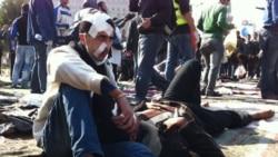 پلیس مصر برای سومين روز متوالی معترضین را در قاهره به گاز اشک آور بست