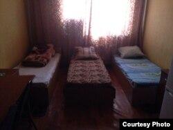 Dormitório dos estudantes angolanos na Ucrânia.