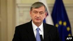 Predsednik Slovenije Danilo Tirk
