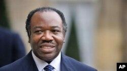 Le président gabonais Ali Bongo Ondimba .