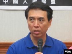 台灣在野黨國民黨立委陳學聖(美國之音張永泰拍攝)