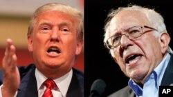 Predsednički pretendenti, Donald Tramp i Berni Sanders