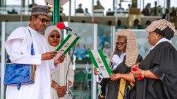 Buhari second inauguration