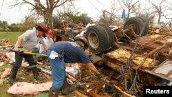 طوفانی بگولوں سے سب سے زیادہ متاثر گرین بری نامی قصبہ ہوا