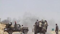 هواپيماهای جنگی ناتو هدف های نظامی نزديک پايتخت ليبی را بمباران کردند