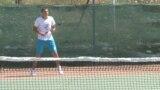 Kosovo, Gracanica, multiethnical tennis camp