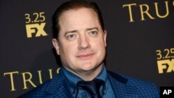 "Actor Brendan Fraser attends a special screening of FX Networks' ""Trust"" at Florence Gould Hall, March 14, 2018, in New York."