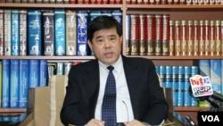 台灣外交部北美司長陳立國 (美國之音楊明拍攝)