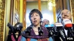 Kepala Urusan Kebijakan Luar Negeri Uni Eropa, Catherine Ashton