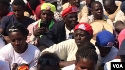 Zanu PF supporters.