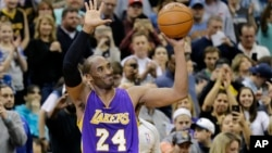 Kobe Bryant (24) de Lakers, NBA, 14 decembre 14, 2014