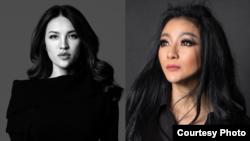 Desainer Mety Choa (kiri) dan Diana Putri (kanan) perancang masker Lady Gaga (dok: Mety Choa/Diana Putri)