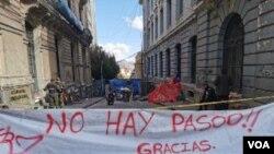 Fuerzas políticas bolivianas a favor y en contra del expresidente Evo Morales llegan a un acuerdo para enviar al Congreso un proyecto de ley que permitiría llamar a nuevas elecciones presidenciales. Foto Yuvinka Avilez.