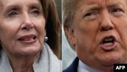 Nancy Pelosi i Donald Trump