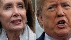 Trump critique Pelosi après qu'elle a rejeté son offre