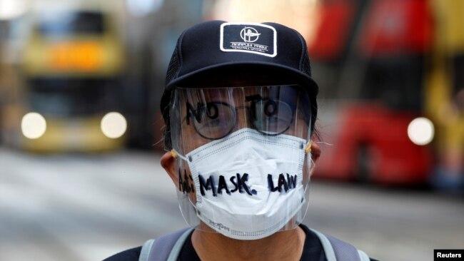 香港《禁蒙面法》暂时失效 梁家杰:北京的态度会软化