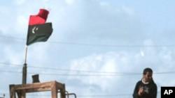 가디피 친위대의 파괴된 군장비