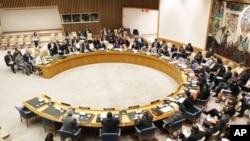聯合國安理會討論敘利亞問題。