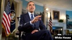 Pidato Mingguan Presiden Amerika, Barak Obama (Foto: dok).