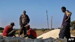 Lors d'une crise humanitaire au sud de Addis-Abeba, le 11 novembre 2009.
