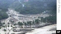 台风莫拉克袭击台南 数百人生死未卜