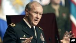 Umutegetsi mukuru w'igisirikare ca Amerika, General Martin Dempsey