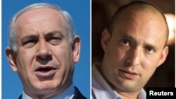 Биньямин Нетаньяху и Нафтали Беннет