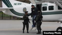 """Erickson Vargas Cardona, conocido como alias """"Sebastián"""", máximo cabecilla de la """"Oficina de Envigado"""", fue capturado este miércoles 8 de agosto en el departamento colombiano de Antioquia. [Foto: Policía de Colombia]"""