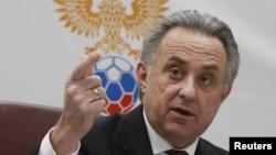 """Vitaly Mutko dijo en un comunicado que """"seguirá trabajando en estrecha colaboración con el COL bajo su nueva conducción, así como con el gobierno ruso."""
