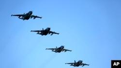 俄羅斯戰機返回俄羅斯