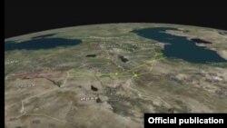 Raket zərbəsi-xəritə