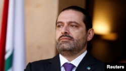 PM Lebanon Saad al-Hariri di Beirut, Lebanon, 24 Oktober 2017. (Foto: dok).