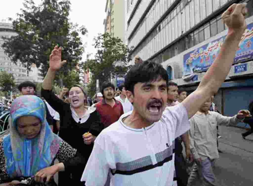 اعتراضات در چین