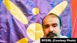 ایران کی قم جیل میں بھوک ہڑتال کے دوران ہلاک ہونے والا سرگرم کارکن واحد سیدی نصیری، فائل فوٹو
