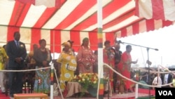 Mrs. Grace Mugabe is addressing provinces in what has been dubbed a 'Meet the people tour'.