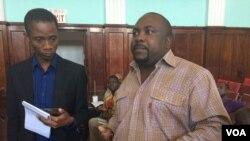 UMnu. Tineyi Mukwewa, umqoqi wenhlelo kunhlanganiso yamagqwetha eye Abammeli Human Rights Lawyers Network.