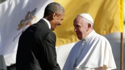 President Obama Welcomes Pope Francis