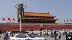 中国的地标性建筑天安门