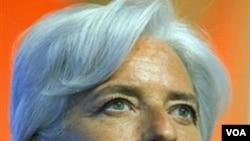La ministra de Finanzas de Francia, Christine Lagarde, fortalece su candidatura para reemplazar a Dominique Strauss Kahn.