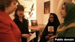 دیدار فعالان حقوق زنان و حقوق بشر با کاترین اشتون