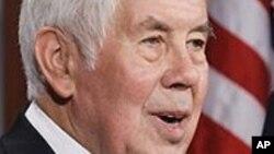 Ričard Lugar, bivši republikanski predsedavajući senatskog Odbora za spoljnopolitička pitanja