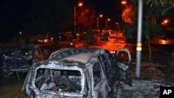 Ledakan bom di Lebanon