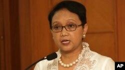 Menlu Indonesia Retno Marsudi gagal mengunjungi Tepi Barat untuk mengadakan perundingan dengan para pemimpin Palestina (foto: dok).