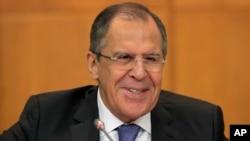 Menlu Rusia Sergei Lavrov menilai pemerintah AS ingin mendominasi urusan dunia (foto: dok).
