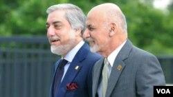 افغان صدر اور چیف ایگزیکٹو (فائل فوٹو)